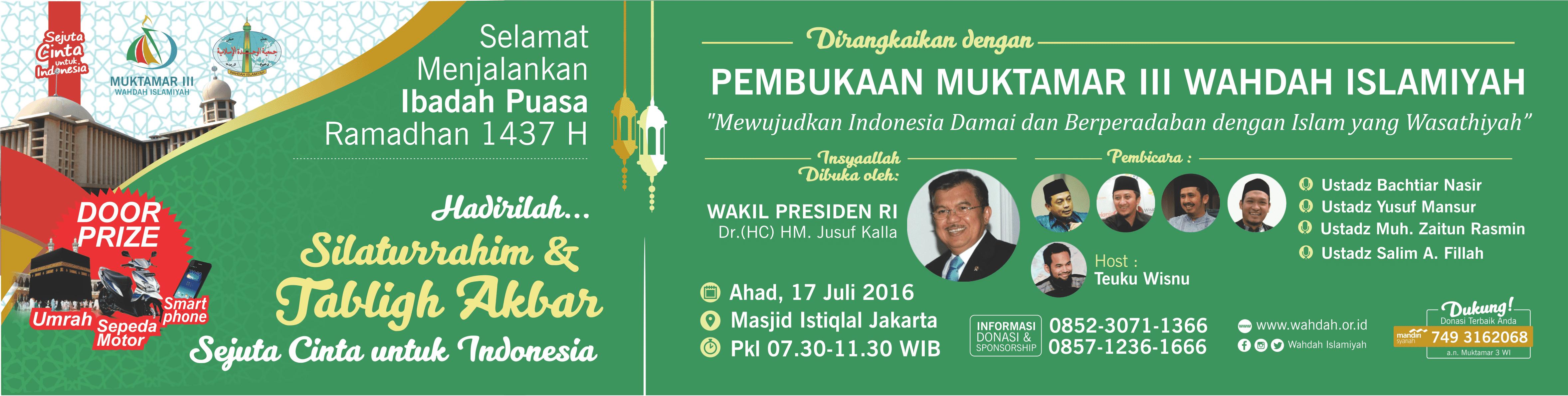 Download Muktamar Iii Wahdah Islamiyah