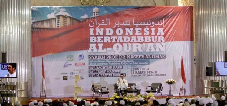 Tabligh Akbar di Masjid Istiqlal: Indonesia Mentadabbur al-Qur'an