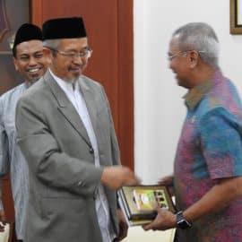 Wakil Gubernur Sulsel Terima Panitia Muktamar III Wahdah Islamiyah
