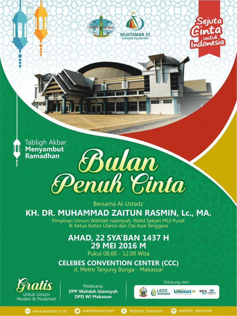 Pamflet - Muktamar CCC Ramadhan