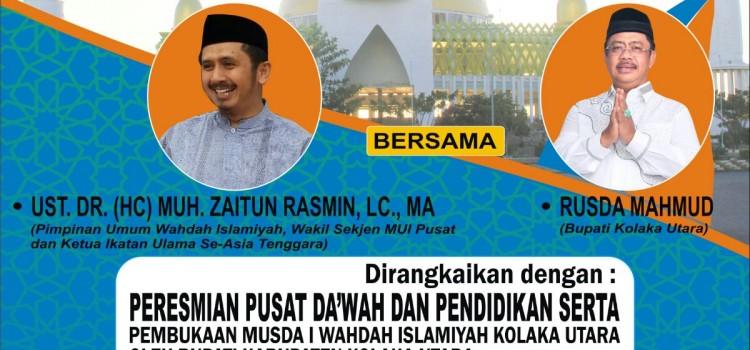 "Tabligh Akbar ""Sejuta Cinta Untuk Indonesia"" Kolaka Utara"