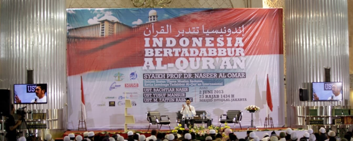 Tabligh Akbar Indonesia Bertadabbur Al-Quran