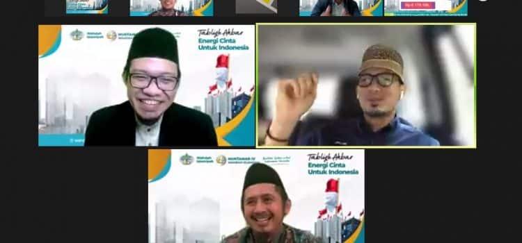 Di Wahdah Islamiyah, Menparekraf Sandiaga Uno Ajak Jama'ah Dukung Program Santri Digital Preneur