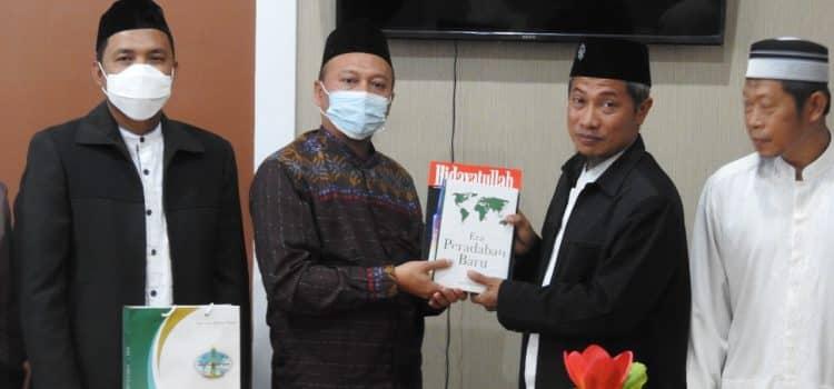 Jelang Muktamar IV, DPP Wahdah Islamiyah Sowan ke Hidayatullah Sulsel